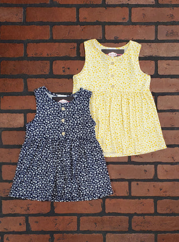Raeann Button Accent Dress (GIRLS)