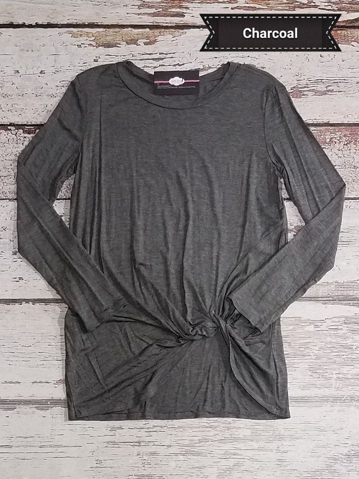 Gretchen Knotted Long Sleeve
