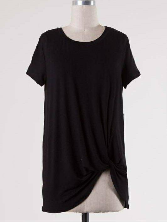 Justina Knotted Tee