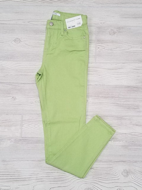 Lime - CP Mid-Rise Ankle Skinny