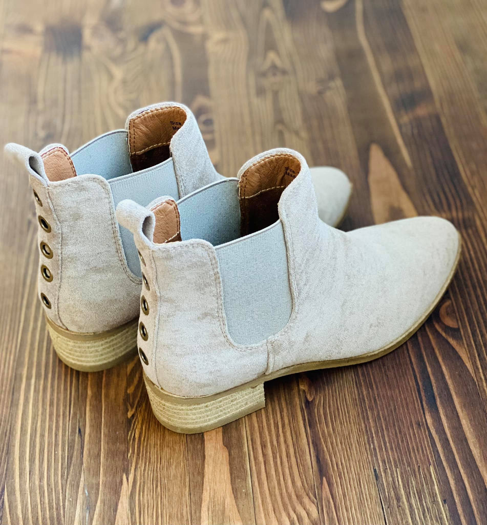 Norway Booties - Taupe