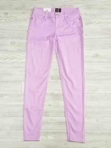 Lavender CP Mid-Rise Skinny