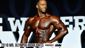 2018 Olympia Men's Physique Highlights: Raymont Edmond's 2nd Place Finish