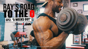 Ray Edmonds Trains Arms | Ray's Road to Olympia Ep.2.