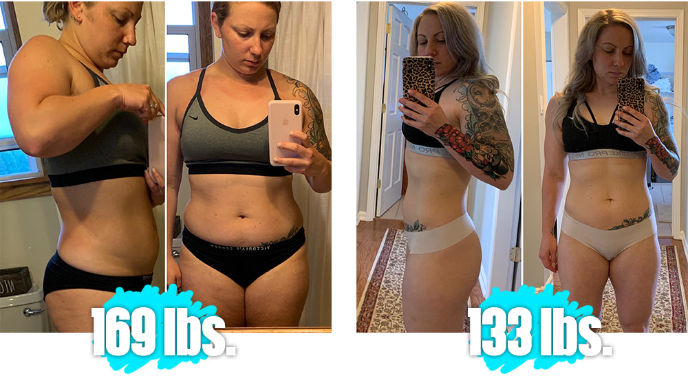 Kim Dautrich before and after keto picture