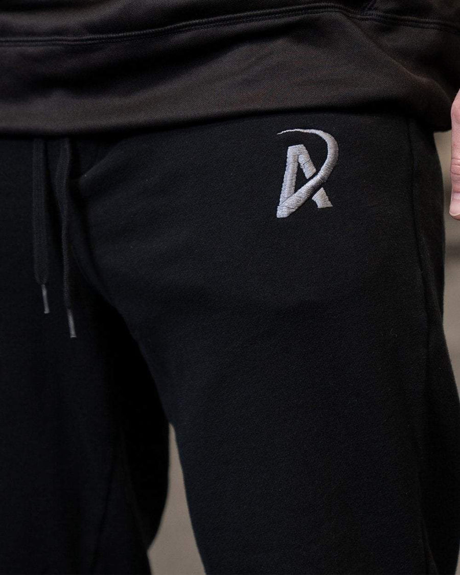 Fleece Joggers // Black - American Made Nutrition Supplements and Fitness Apparel