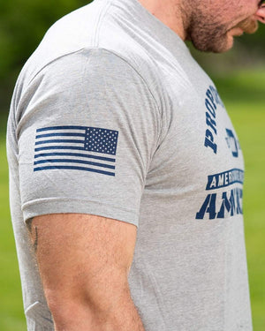 American Made Nutrition APPAREL Property of AMN Tee