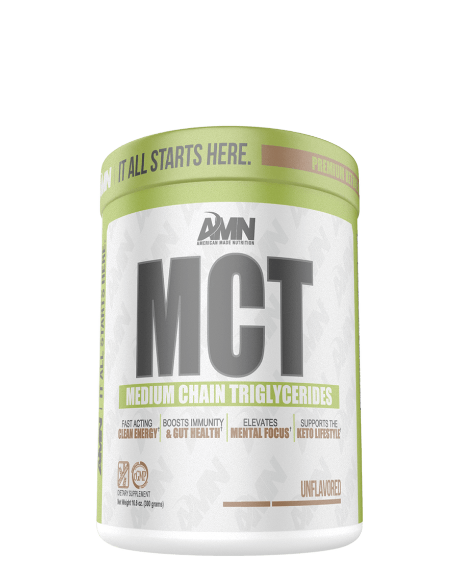 American Made Nutrition SUPPLEMENTS Salted Caramel MCT | Medium Chain Triglycerides