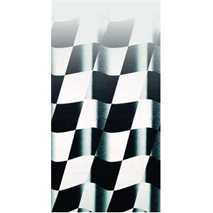 16' CHECKERED FLAG FABRIC