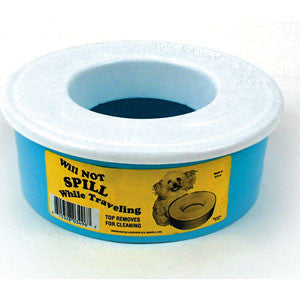 SPILL PROOF PET DISH