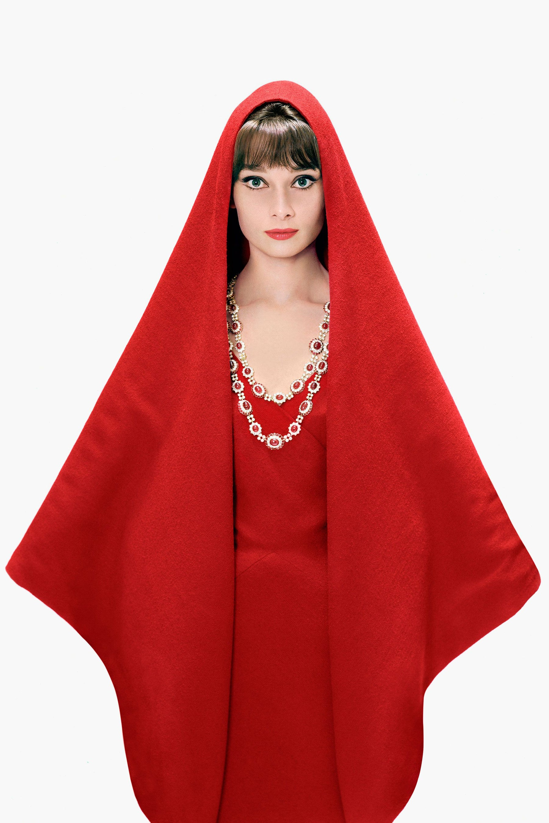 Artifact Adornment One Of A Kind Antique Vintage Retro Estate Fine Jewelry Audrey Hepburn Red Cape Rubies