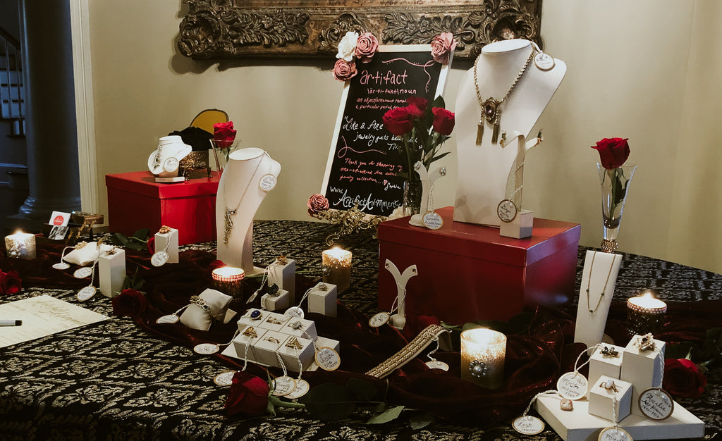 Host an antique jewelry trunk show with Artifact Adornment by Sophia Spallino Lafayette, Louisiana