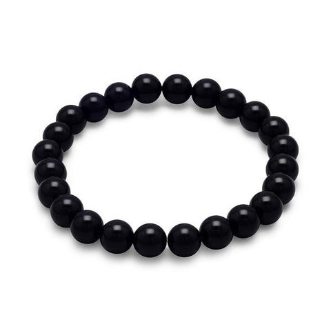 chic black en birks bee men bracelet onyx s