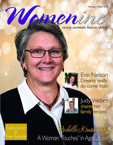 02 - 2 Yr Subscription to Womeninc Magazine