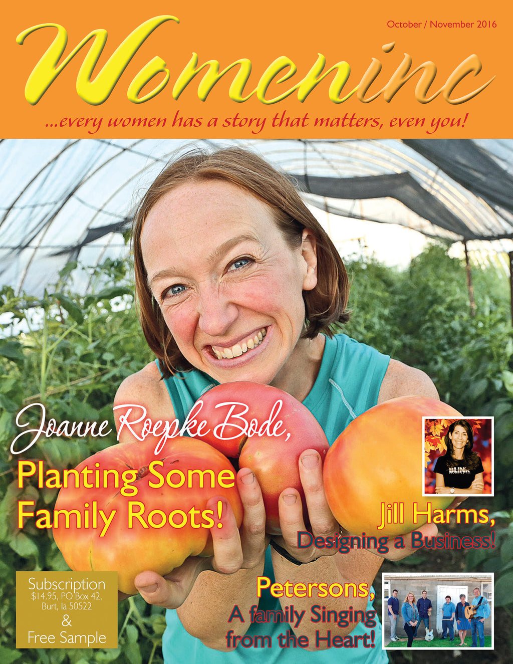 01 - 1 Yr Subscription to Womeninc Magazine