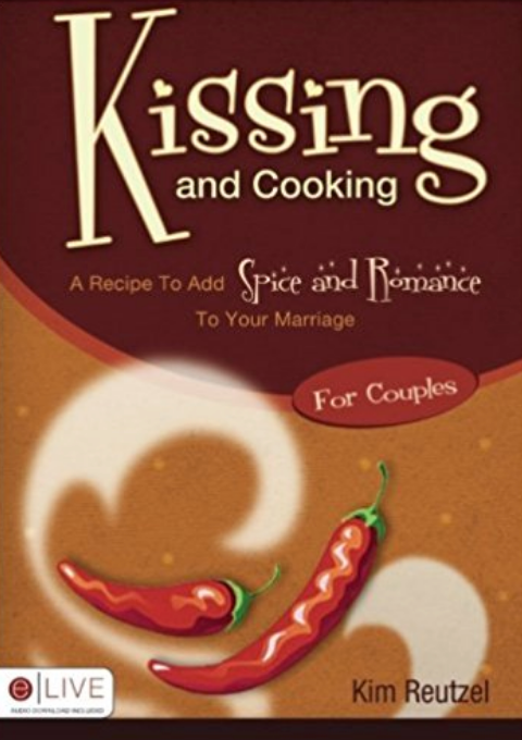 04 Kissing and Cooking for Couples Book - free shipping in USA