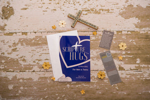 Scripture Hugs and Prayers for Man and Teens - Birthday, Fathers Day, Sons, Friendship and more... FREE SHIPPING Today!