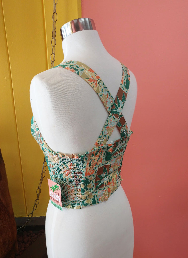 """Final Sale"" Calla Lilies in Bloom Bungalow Top"