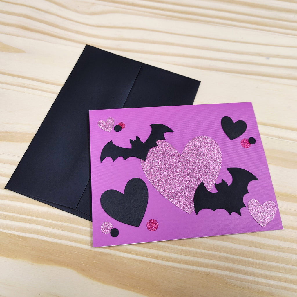 """I'm Batty About You"" Valentine's Day Greeting Card"