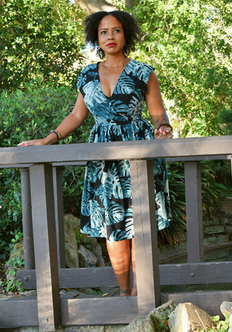 """Final Sale"" Hawaiian Holiday Jolene Patio Dress"