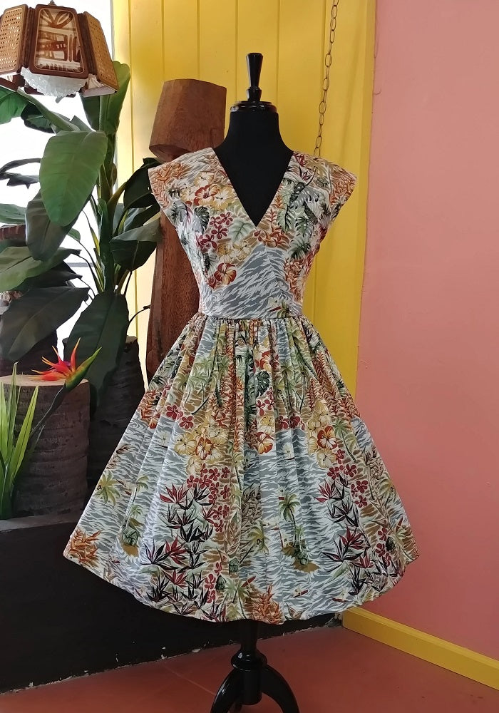 """Final Sale"" Surfer's Cove Jolene Patio Dress (Plus Size Sample Run)"