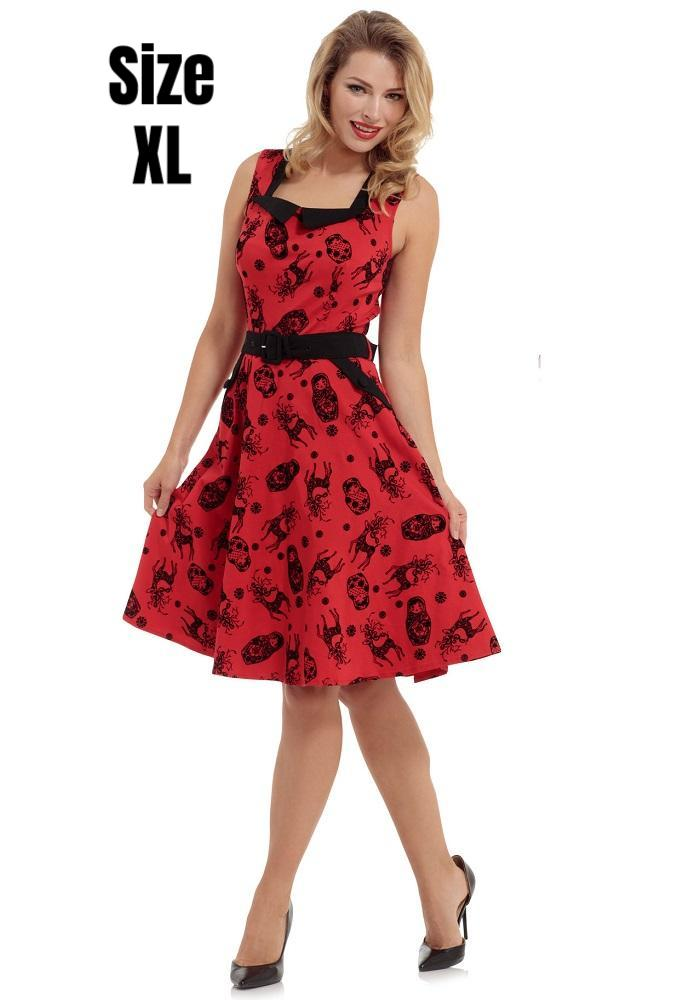 Scarlett Holiday Swing Dress