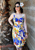 Limited Edition Hollywood Starlet Sonia Sarong Dress