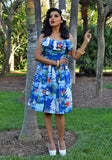 Sail Away Windjammer Cha Cha Ruffle Dress