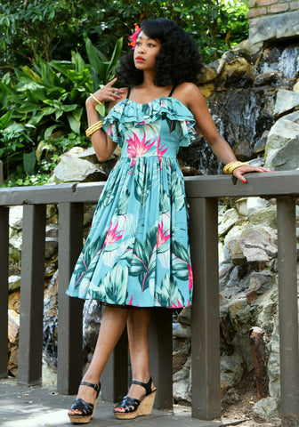 Surfer's Cove Jolene Patio Dress