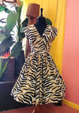 Painted Tiger Stripes Jolene Patio Dress