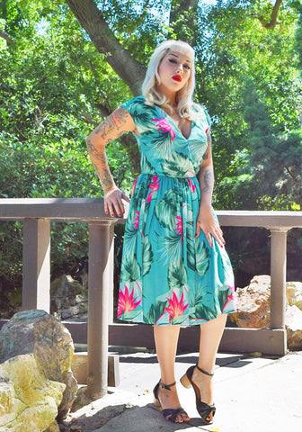 """Final Sale"" Surfer's Cove Jolene Patio Dress"