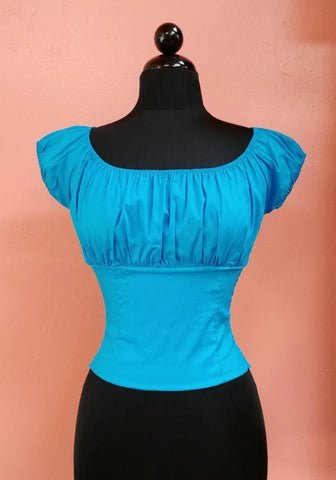 """Final Sale"" 3X  Lyla Harness Pin Up Top"
