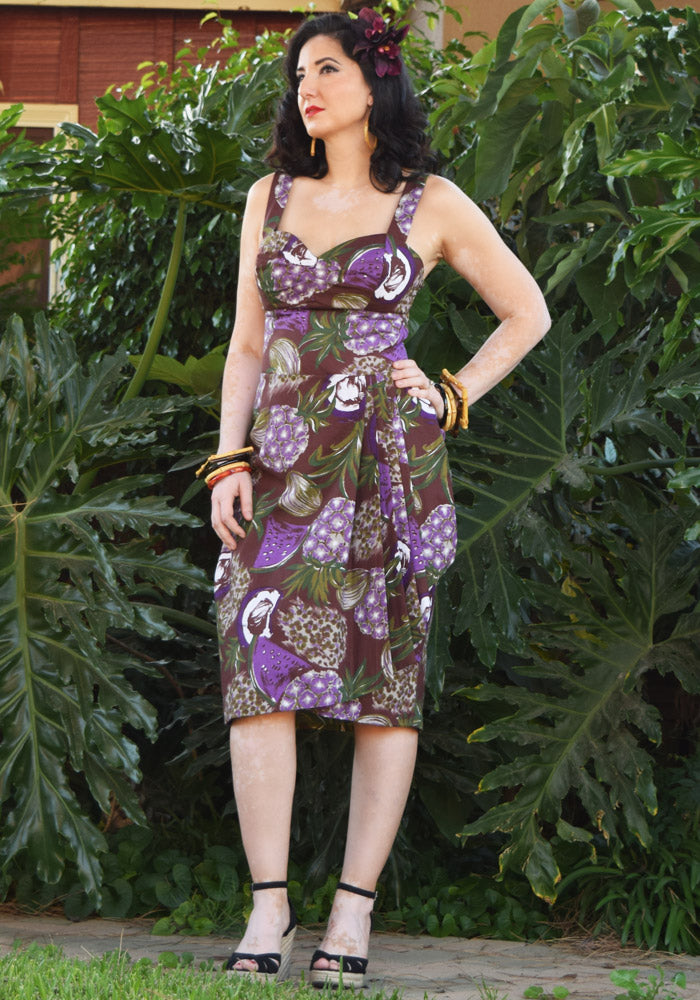"""Final Sale"" Forbidden Fruit Sonia Sarong Dress"