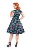 Flamingo Palms Isabella Dress