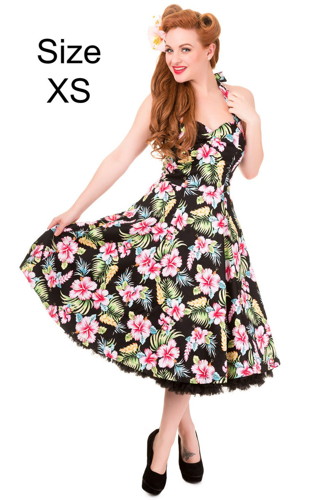 """Final Sale"" Tropical Floral Dress"