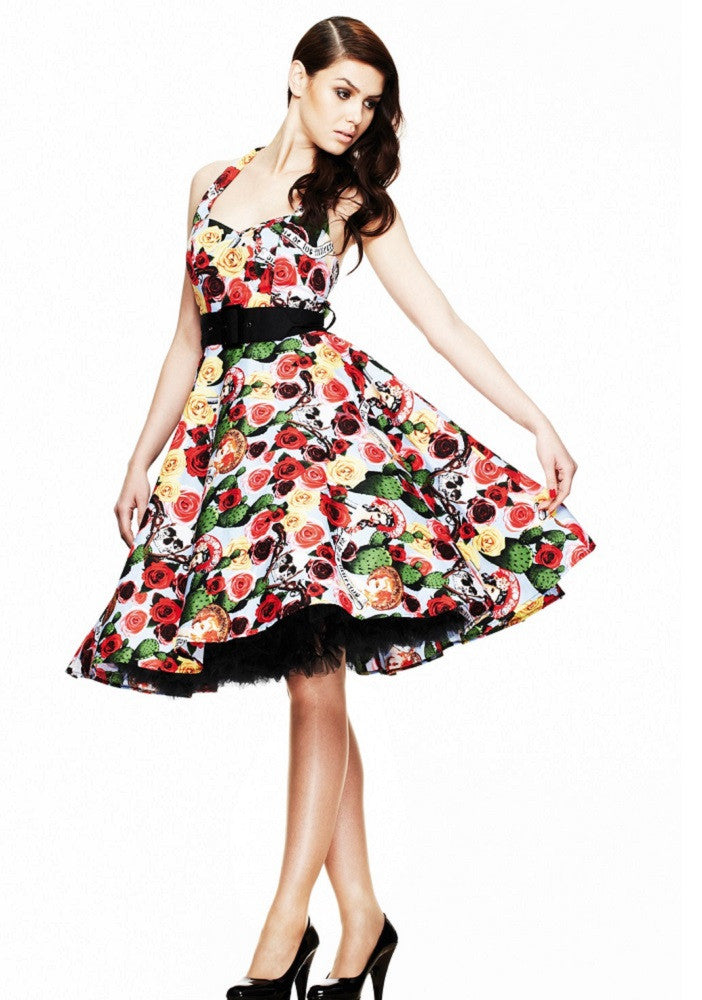Mexico Pinup Swing Dress