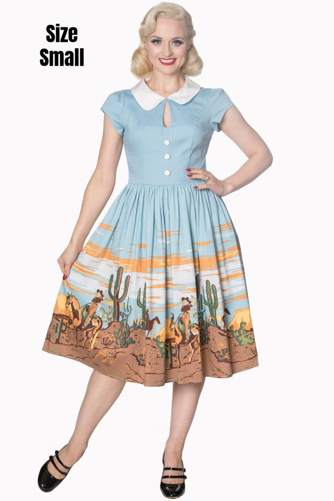 """Final Sale"" Magical Day Western Dress"