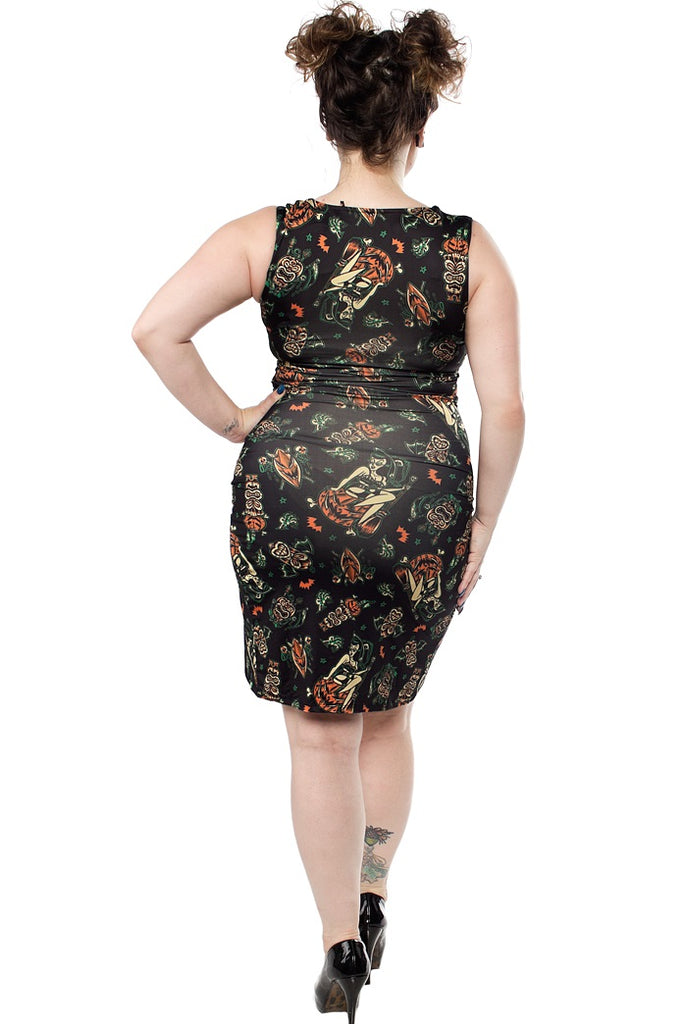Hallow-Tiki Wiggle Dress