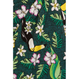 Mahina Tropical Birds Tiki Sarong Dress