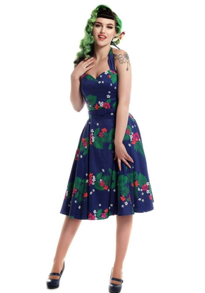 Beth Tahiti Swing Dress