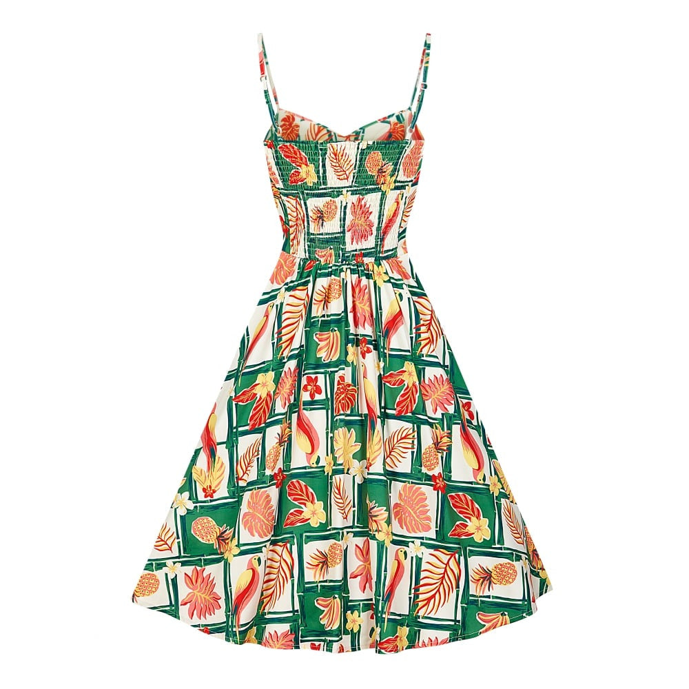 Tropical Tiki Bamboo Fairy Doll Sun Dress