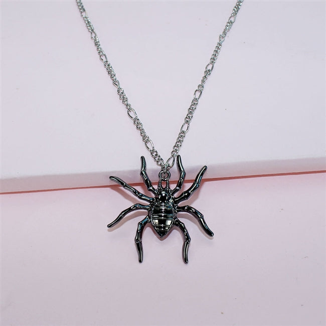 Spider Pendant Necklace