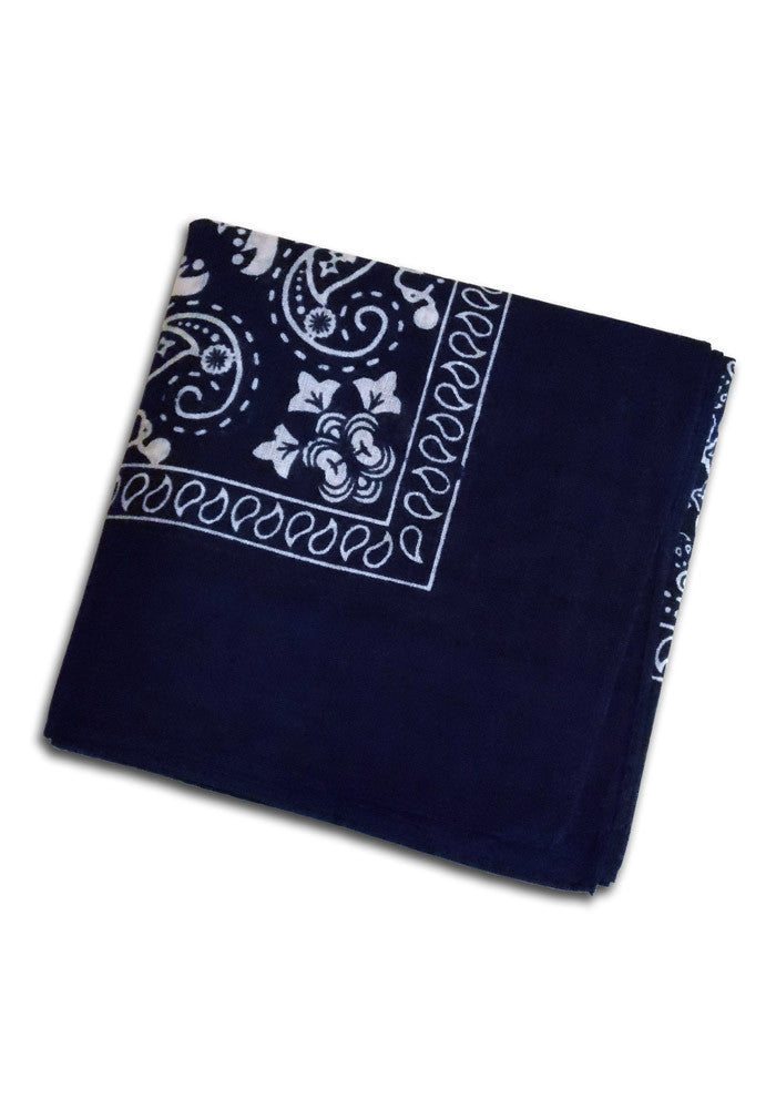 Navy Blue Bandanna