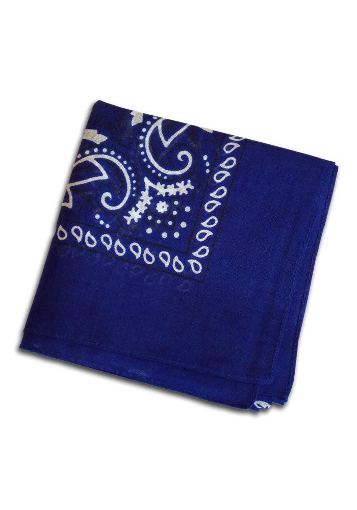 Royal Blue Bandanna