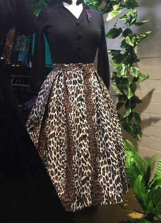 """Final Sale"" Lovely Leopard Bonnie Skirt"
