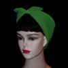 50's Style Retro Neck & Hair Scarf - Emerald Green