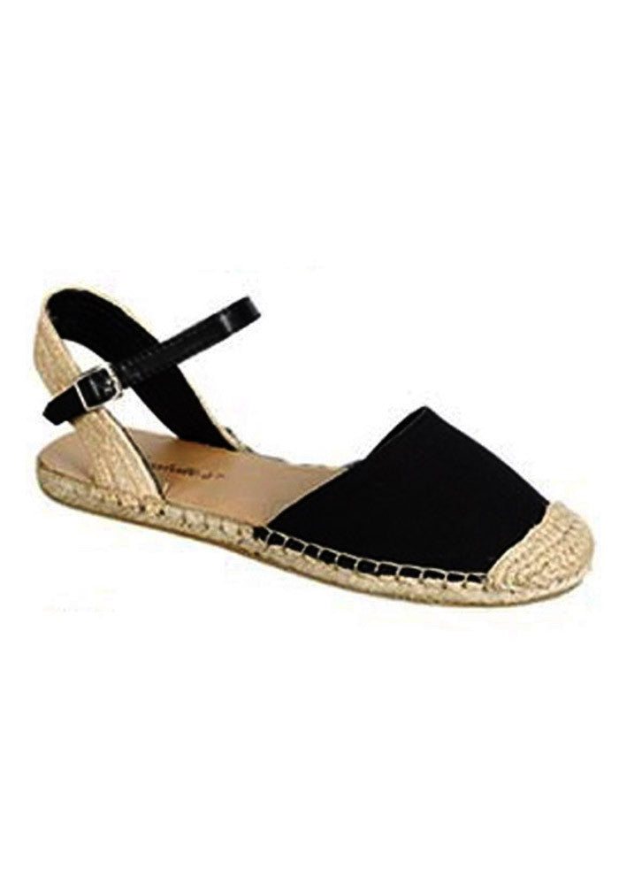 Cabana Espadrille Sandals, Black