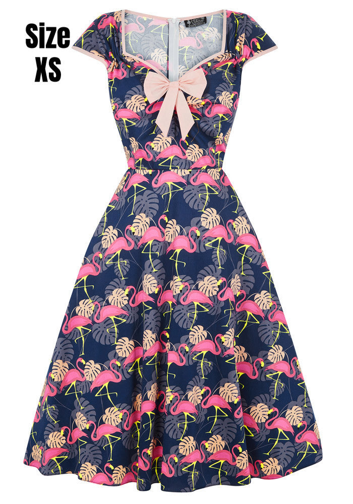 """Final Sale"" Flamingo Print Isabella Dress"