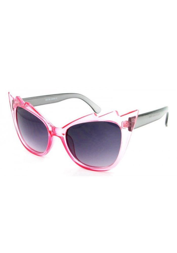 Vamp Cateye Sunglasses -Pink