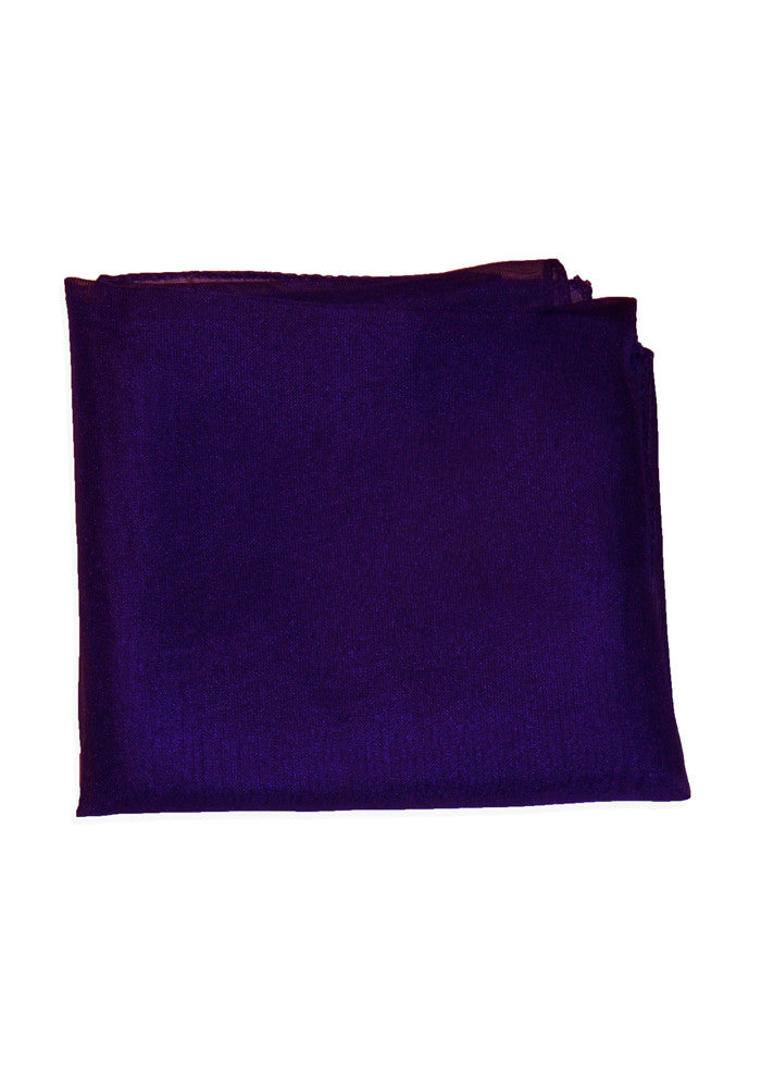 50's Style Retro Neck & Hair Scarf - Purple